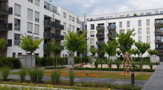 The Passive House district of Bahnstadt in Heidelberg (Germany)
