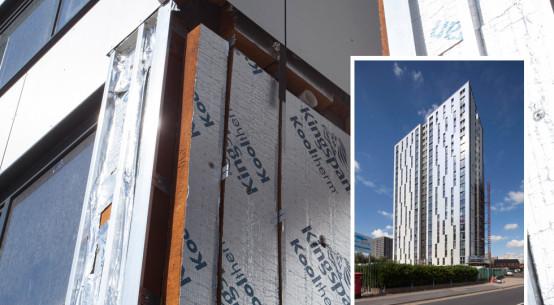 Kingspan Insulation at Salford resident block