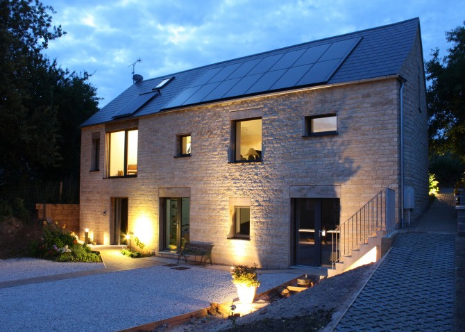 The award winning Whitwell House has achieved Passivhaus standards with ISO-CHEMIE sealing tape