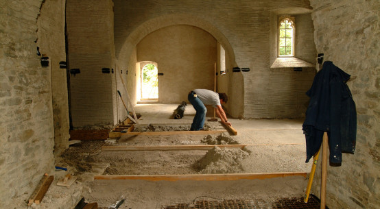 Tŷ-Mawr Lime Ltd's breathable insulation systems are environmentally friendly and can be retrofitted to historic buildings as well as to newly built houses.