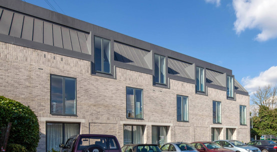 Stylish new homes created with Kingspan Tek