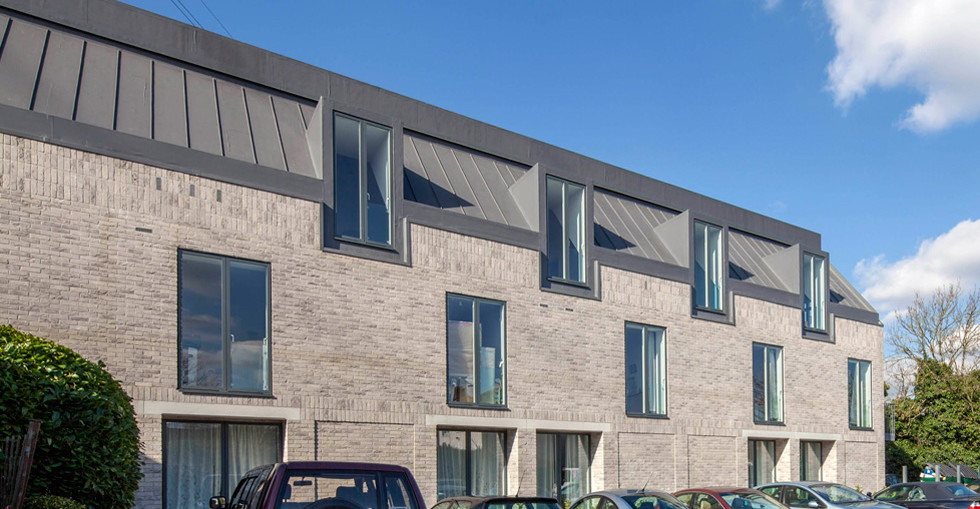 Stylish new homes created with Kingspan Tek