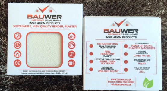 Bauwer Insulated renders and plasters