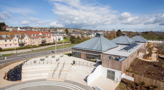 Kingspan TEK used at Seaton Jurassic visitor centre in Devonshire