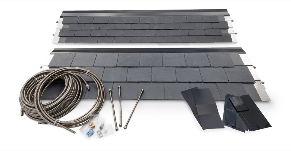 THERMOSLATE®, the first and only natural slate solar thermal panel