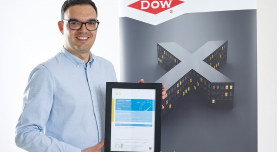 Dow XPS roofing insulation attains Green Guide Rating A+