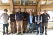 UK's first 'passive' oak framed home under pressure!
