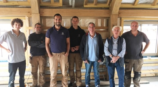 UK's first 'passive' oak framed home under pressure!