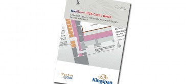 KINGSPAN RELEASES DETAILS GUIDANCE FOR LOWER LAMBDA CAVITY WALL INSULATION
