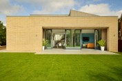Potton's latest self build show home, built to Passivhaus standards and awaiting certification – exterior.