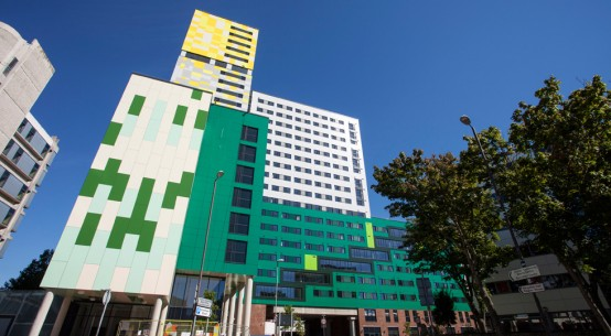 Kooltherm installed on waterfront student accommodation