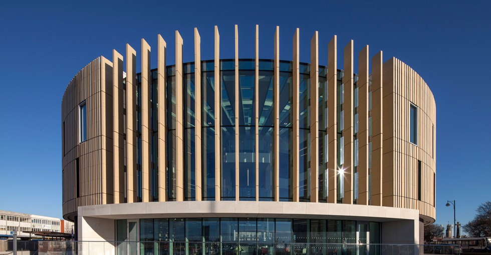South Shields cultural centre with Kingspan TEK Cladding Panel