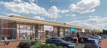Shopping park achieves BREEAM and carbon neutral