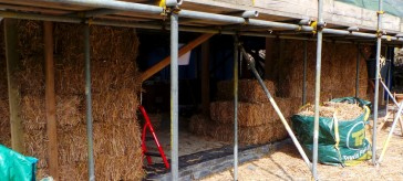 The world's first Miscanthus bale house