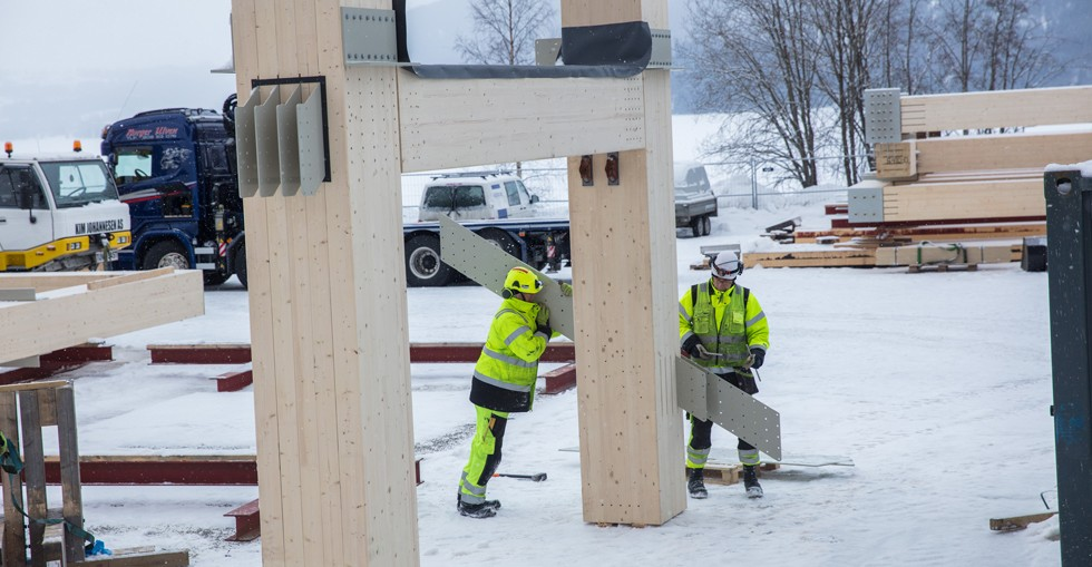 How the world's tallest timber building will withstand fire