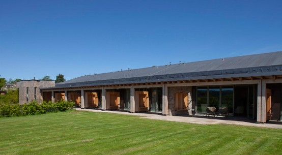 In-patient unit insulated with Kingspan