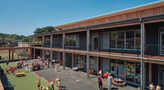 Two New Passivhaus Schools Complete in Carmarthenshire