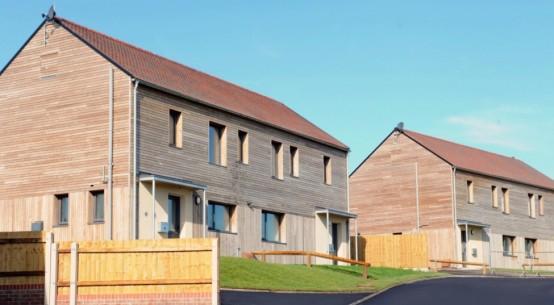 Passivhaus social housing development completes in Shropshire