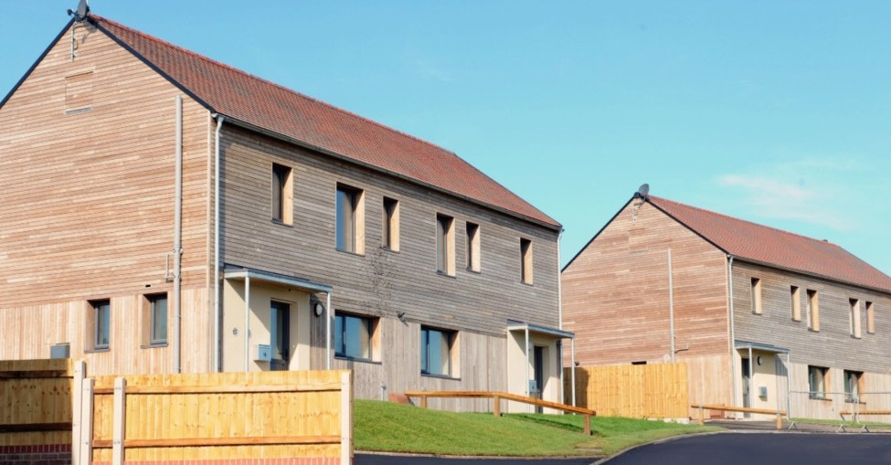 Passivhaus social housing development completes in Shropshire