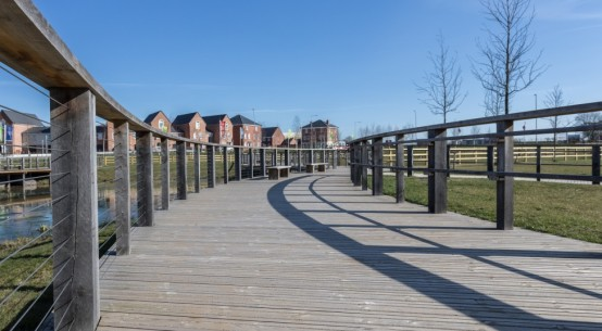 Marley Eternit Antislip Decking creates striking community boardwalk