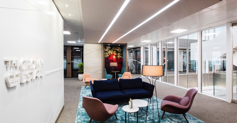 Crown Estate's HQ is first office in Europe to achieve WELL Platinum Certification