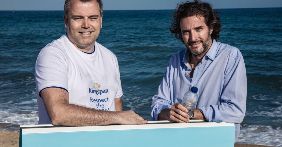 Kingspan launches ocean plastic clean-up partnership