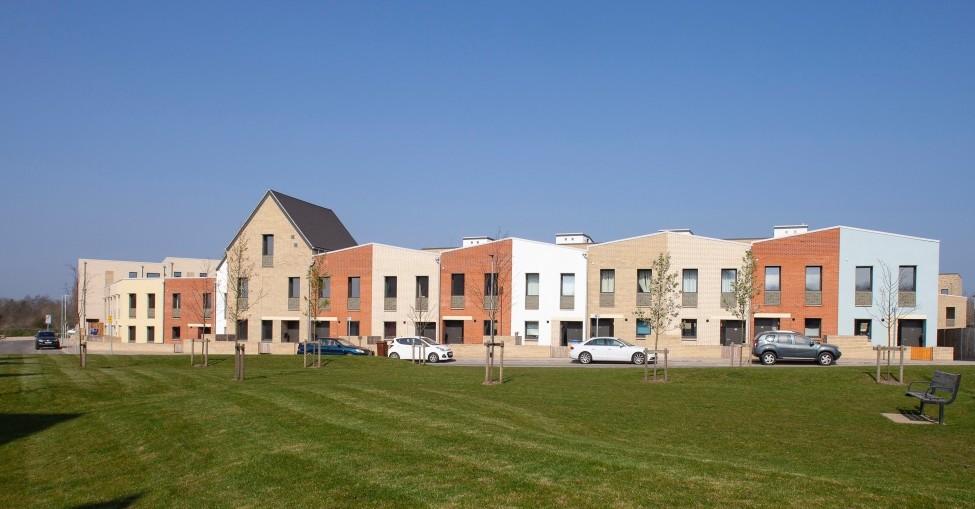 Passivhaus estate constructed with Kingspan TEK