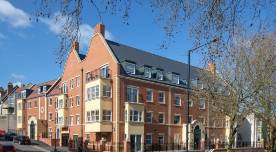 Bristol development benefits from insulation solution