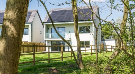Eco-housing development leading the way into a sustainable future