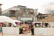 Summer pop-up offers the best in activities using recycled shipping containers
