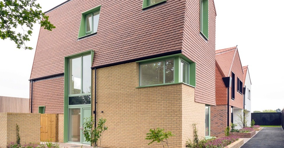 Basildon estate customised with Kingspan Kooltherm