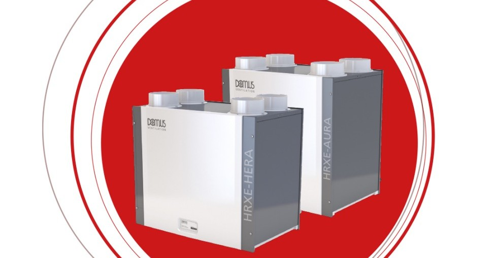 Domus Ventilation Launches Next Gen High Performance MVHR Systems