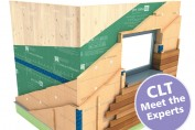 Insulating and Achieving Airtightness with Cross Laminated Timber